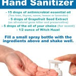 Hand Sanitizer 150x150 Homemade Mosquito Repellant