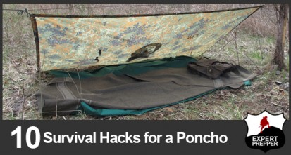 10 Hacks for a Survival Poncho