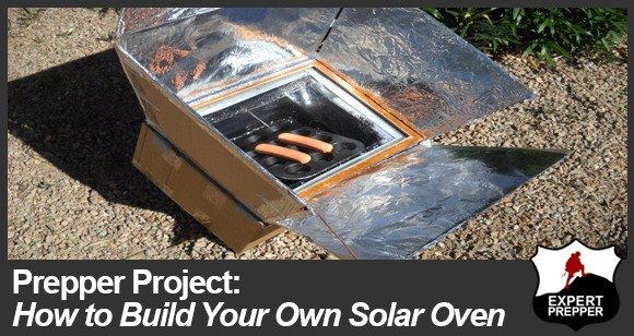 Diy solar oven expert prepper blog for How to build a solar oven for kids