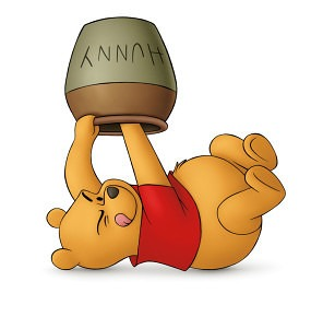 pooh hunny 1 rgb 285x300 Whats going to sweeten life after a collapse?   Its honey, honey!